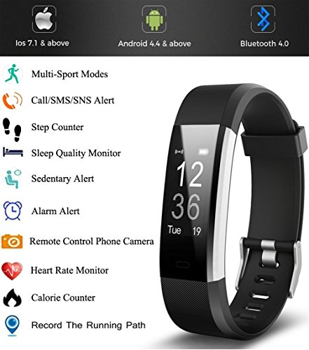 Fitness-Tracker-Life-Gear-Pro-HR-Plus-Waterproof-Fitness-Wristband-with-Heart-Rate-Monitor-with-Pedometer-Sleep-Monitor-for-Android-and-iOS