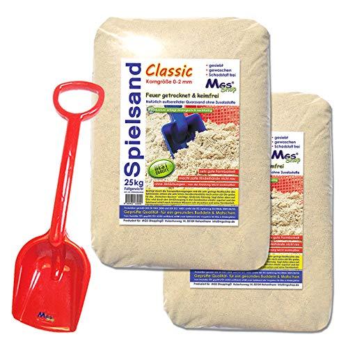 50kg Spielsand Quarzsand TÜV geprüft TOP Qualität 0 – 2 mm Sandkasten