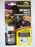 Technicqll - Disolvente de pegamento instantáneo universal, de cianoacrilato, 4 ml