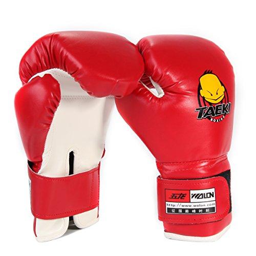XCSOURCE PU Enfant Gants de Boxe Authentique Entraînement Sparring-partner Dajn Boxe Formation OS311