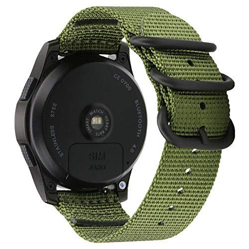 Bandbügel Ersatz 20mm grün Schnellspanner Uhr Armbinde Armband für Herren Sportuhr