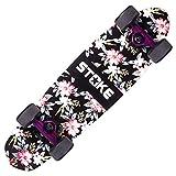 Feyiyd Rutschfestes, verschleißfestes, starkes Skateboard Hochelastisches, verschleißfestes PU-Perfusionsrad-Skateboard High Speed   Silent Bearing Anfänger-Skateboard