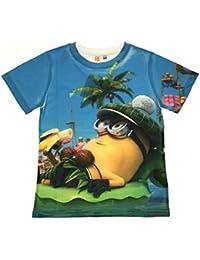 f4d5c450d Despicable Me Kids Short Sleeve T Shirt