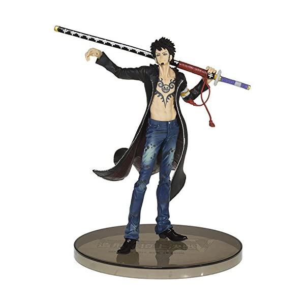 One Piece Scultures Big Banpresto Figure Colosseum Zoukeiou Choujyou Kessen 5 Vol.5 Trafalgar.Law Figure 1