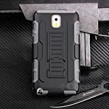 Galaxy Note 3 Funda, Cocomii Robot Armor NEW [Heavy Duty] Premium Belt Clip Holster Kickstand Shockproof Hard Bumper Shell [Military Defender] Full Body Dual Layer Rugged Cover Case Carcasa Samsung N9000 N9005 (Gray)