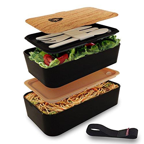 smart gorilla tools bento box dein essen jederzeit griffbereit lunchbox brotdose. Black Bedroom Furniture Sets. Home Design Ideas