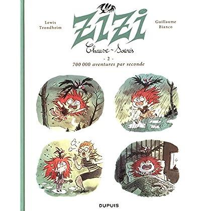 Zizi chauve-souris - tome 2 - 700 000 aventures par seconde