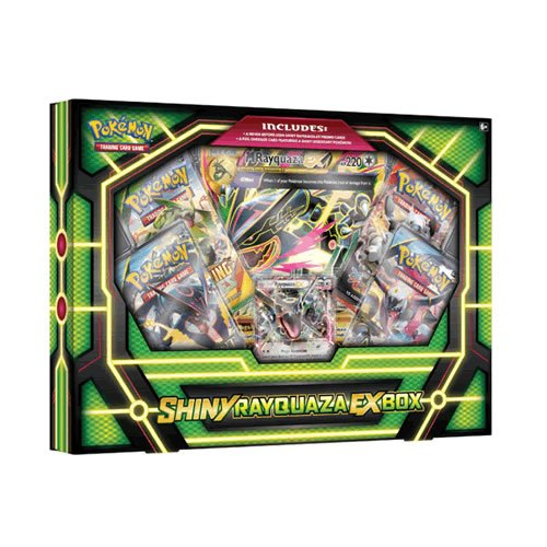 Pokemon Shiny Rayquaza-EX-Box