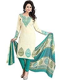Crazy Cotton Salwar Suits For Women Un Stitched
