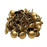 Sharplace 100pcs Antik Eisen Polsternägel Ziernägel Nägel, 10x10mm