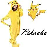 Traje-de-Halloween-Carnaval-pijamas-felpa-de-Pokemon-Pikachu