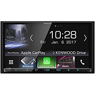 Kenwood-DMX7017BTS-177-cm-WVGA-Digital-Media-Moniceiver-mit-Bluetooth-Apple-CarPlay-und-Android-Auto-schwarz