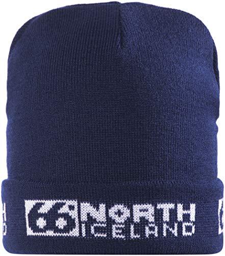 66°North Erwachsene Mütze Hat, Navy Blue, One Size, T88211-004