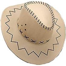 1dcd9e6aa5a1b PICCOLI MONELLI Vaquero Vaquero Hombre Sheriff Sombrero también es Adecuado  para Color Carnaval Beige