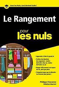 Le rangement pour les Nuls poche par Philippe Chavanne