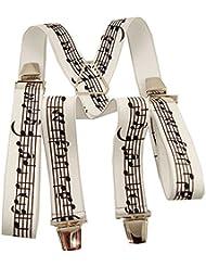 Bretelles pour homme musicale