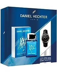 DANIEL HECHTER Coffret Homme XXL, Eau de Toilette 50 ml+  Montre griffée DANIEL HECHTER