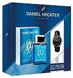 Daniel Hechter XXL Set Men, Eau de Toilette 50ml + zeigt mit Kratzstruktur Daniel Hechter