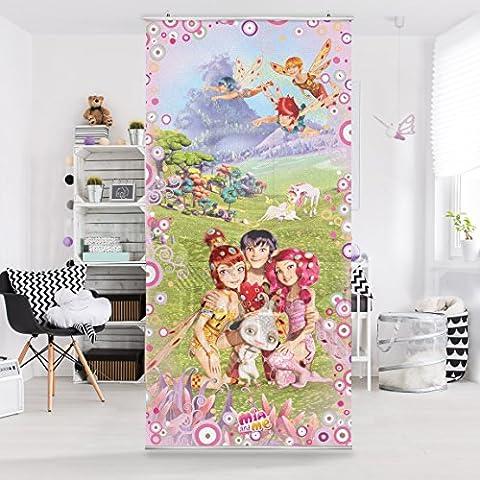 Panel japones Mia and Me - Mia's magical world 250x120cm, panel japonés, paneles japoneses, separadores de ambientes, cortina, paneles japoneses cortina, cortinas, Tamaño: 250cm x 120cm