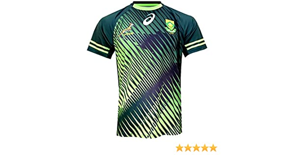 2a45436629c South Africa Springboks 7s Home Jersey 2016: Amazon.co.uk: Sports & Outdoors