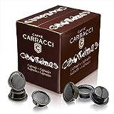 Caffè Carracci, 100 Capsules Compatibles Lavazza A Modo Mio, Napoli
