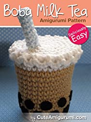 Boba Milk Tea Amigurumi Pattern (Crochet Pattern Books) (English Edition)