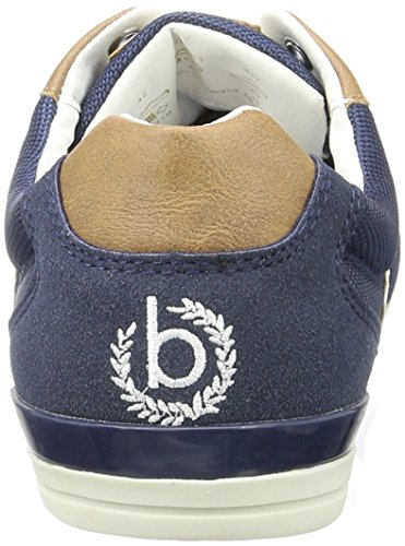 Bugatti F470563, Sneakers Basses Homme Bleu (Dkl.Blau/Cognac 427)