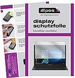 dipos I 2X Schutzfolie klar passend für Medion Akoya E4254 Notebook Folie Displayschutzfolie