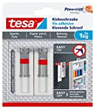 tesa Klebeschraube für Tapeten und Putz (verstellbar, 1kg)