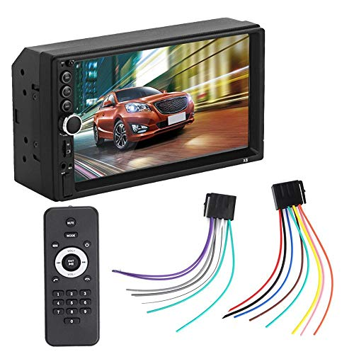 Qinlorgo X6 7-Zoll-HD-Touchscreen-Auto MP5-Player Bluetooth-Freisprecheinrichtung Autoradio Vob-avi-converter
