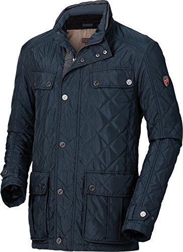 Royal Spencer Herren Steppjacke, hochwertige Herren-Bekleidung, Übergangsjacke in Blau, ideal als Herbstjacke (Größe: 48 - 60)