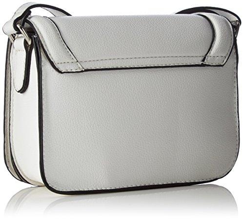 GERRY WEBER Rainbow Flap Bag H, S Umhängetaschen Weiß (White 100)