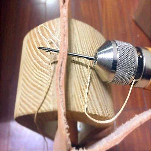 Professionelle Speedy Stitcher Nähen Ahle Tool Kit, Nadel Arts & Craft Werkzeug für Leder Sail & Leinwand Heavy Reparatur Zubehör - 5