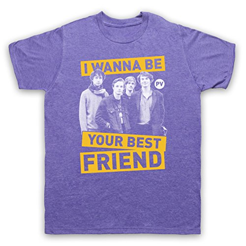Inspiriert durch Palma Violets Best Of Friends Unofficial Herren T-Shirt Jahrgang Violett
