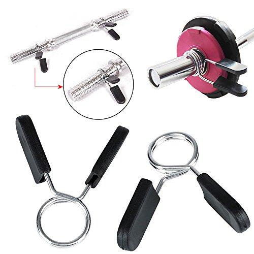 YYGIFT Bar Bell Collar 25/mm//30/mm Chiusura bilanciere manubri Bar Bell Collari per Asta bilanciere Curl manubri 1/Coppia