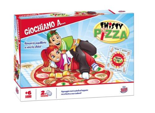 Grandi Giochi GG90020 - Gioco Twisty Pizza
