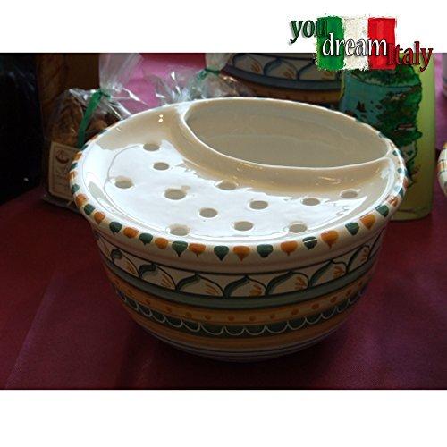 Mozzarelliera in Ceramica di Vietri