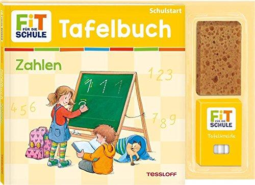Tafelbuch Zahlen: Mit Tafel und Kreide Rechnen lernen (Fit für die Schule - Tafelbücher)