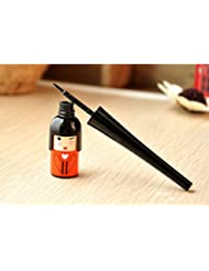 5X Japanese Style Waterproof Liquid Eyeliner Pen for Eyebrow Make up Kawayi Doll Shape Cosmetic Tool(Random Color)