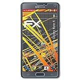 atFolix Folie für Samsung Galaxy Note 4 Displayschutzfolie - 3 x FX-Antireflex-HD hochauflösende entspiegelnde Schutzfolie