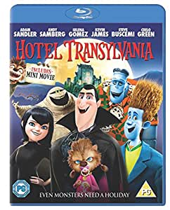 Hotel Transylvania (Blu-ray + UV Copy) [2012] [Region Free]