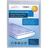 """Funda de colchón """"Single"""" Premium Plus extra fuerte 80µ extra largo 250 cm o Protección contra la humedad para 100 cm ancho Colchón"""
