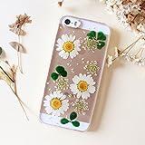 """Hermoso Girasol funda para mujer Real flores iPhone 6/6S y funda para iPHONE 6S Carcasa para iPhone 64.7"""""""