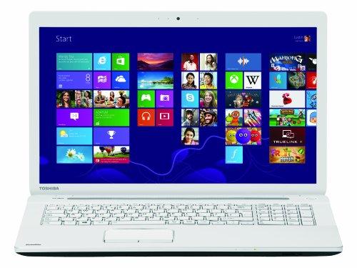 Toshiba Satellite C75-A-15E 43,9 cm (17,3 Zoll) Laptop (Intel Pentium 2020M, 2,4GHz, 8GB RAM, 500GB HDD, Intel HD, DVD, Win 8) weiß