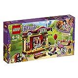 LEGO Friends 41334 - Andreas Bühne im Park, Spielzeug für Mädchen und Jungen