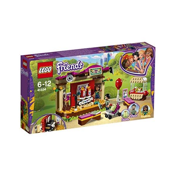 LEGO- Friends La Performance al Parco di Andrea, Multicolore, 41334 2 spesavip