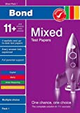 Bond 11+ Test Papers: Multiple Choice: Mixed Pack 1 (Bond 10 Minute Tests)