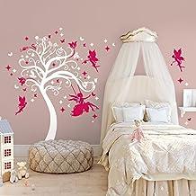 01438 Pegatina Adhesivo Vinilo Decorativo Pared Wall Art Arbol - Sueños mágicos - 180x180 cm