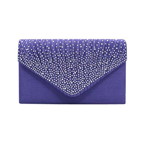 SOMESUN, Poschette giorno donna Purple