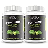 Sinew Nutrition Green Coffee Beans Extract 700 mg (90 Count) Pack of 2
